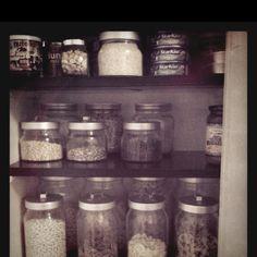 IKEA glass jars