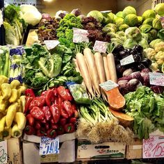Fresh produce stacked high #Budapest #centralmarkethall #hungarianfood #ontheblog #thefidgetyfoodie