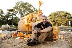 Largest carved pumpkin ^_^