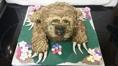Sloth cake Sloth Cakes, Teddy Bear, Toys, Animals, Animais, Animales, Animaux, Toy, Animal