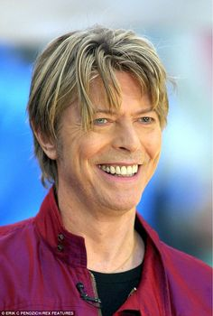 An older Bowie, pictured here nearly two decades after he walked into the Carinda Hotel to film Let's Dance