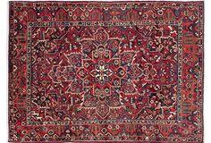 "8'9""x11'11"" Persian Bakhtiar Rug, Red"