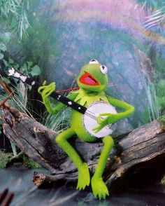 Kermit to remind me there is still a Jim Henson. The rainbow connection, the lovers, the dreamers and me