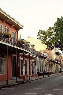 French Quarter streetscape