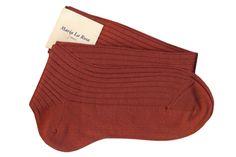 Knee socks 70% cashmere 30% silk
