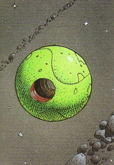 The Airtight Garage - Moebius (collector cards) Jean Giraud Moebius, Moebius Art, Science Fiction, Heavy Metal Comic, Book Of Kells, Collector Cards, Robot Design, Encaustic Painting, Art For Art Sake