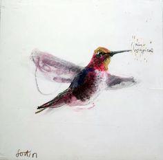 Un joli colibri magique!