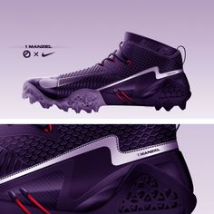 Designer Quintin Williams created a Johnny Manziel Nike Cleat concept and it looks fantastic. Using the Nike Vapor Hyperagility as a base, added TPU . Mens Football Cleats, Girls Football Boots, Soccer Boots, Football Gear, Football Players, Nike Shoes Cheap, Nike Shoes Outlet, Athletic Trends, Sneakers Sketch