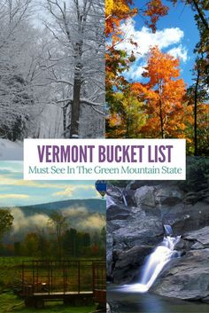 Check out this list of family friendly things do see and do in Vermont. Must add them to your bucket list!