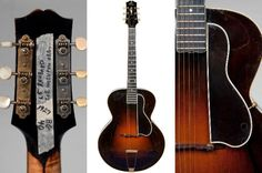 1927 Gibson L5 that belonged to Les Paul