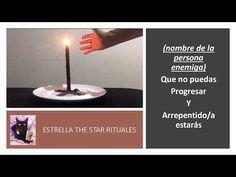 Estrella The Star Rituales - YouTube Incense, Karma, Tea Lights, Candles, Youtube, Black, Black Sails, White Magic, Driveways