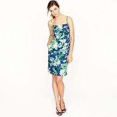 ShopStyle: Fresco floral dress JCrew it is $298.00, but pockets!  :)