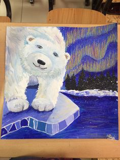 Christmas Art Projects, Winter Art Projects, Cool Art Projects, 2nd Grade Art, Environmental Art, Art Club, Art Plastique, Teaching Art, Elementary Art