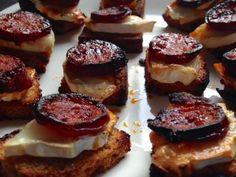 Cake Chorizo Chevre, Mini Cake Sale, Toast, Canapes, Voici, Cheesecake, Brunch, Fans, Kitchen