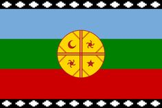 Mapuche's flag I live in chile, south america. in my country we have more than… Tinta Tattoo, I Tattoo, Tribal Tattoos, Tatoos, Peru, Aztec Culture, Special Tattoos, Cool Countries, Fairies