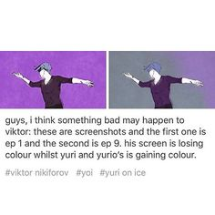 I really hope this doesn't happen. If it does, it's probably something like Victor cracking his knee and never being able to skate again.