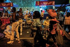 David Alan Harvey  BRAZIL. Rio de Janeiro. 2010. 2010 Carnival Samba School Parade at the Sambodromo.