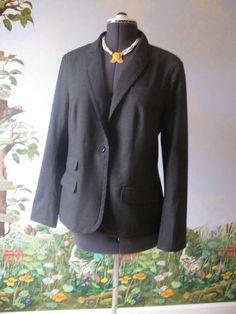 TORY BURCH Runway Dark Gray Career Suit Blazer / Jacket Size 14 NWT $450 #ToryBurch #Blazer