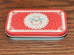 Vintage Doily travel sewing kit