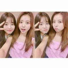 [Pristin] Nayoung with Sohye at Final Produce 101 Season 2