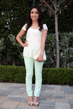 Dulce candy's outfit of the day!! :) Very cute