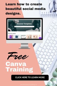 graphic training course for Canva (that is really easy) This one free course can save you hundreds of dollars! This one free course can save you hundreds of dollars!