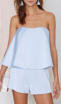 Keepsake Night After Night Layered Romper