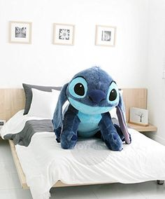 Stitch Doll Plush Disney Lying Cushion Girl Lilo and Stitch Toy Giant Pillow Lilo And Stitch Toys, Lelo And Stich, Lilo Y Stitch, Stitch Doll, Cute Stitch, Disney Stitch, Peluche Stitch, Disney Magic, Stitch And Angel