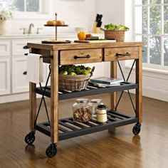 Kitchen Island Trolley - Cabinets and Sideboards | Interiors Online - Furniture Online & Decorating Accessories
