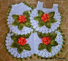 Jogo de Banheiro Garden https://www.facebook.com/edimara.comin