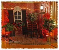 """Incredible """"Riverboat Cruise"""" banquet decor shared by Second Chances by Susan at Knick of Time Tuesday.  KnickofTimeInteriors.blogspot.com"""