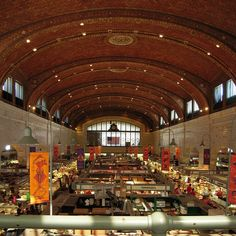 Cleveland West Side Market.