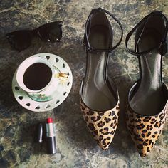 We can't get enough leopard. Maxx style with the perfect pointy pump.