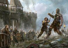 Last Argument of Kings - Review Dark Fantasy, Fantasy Concept Art, Medieval Fantasy, Fantasy World, Fantasy Art, Vikings, Valhalla, Dungeons And Dragons, Fantasy Kunst