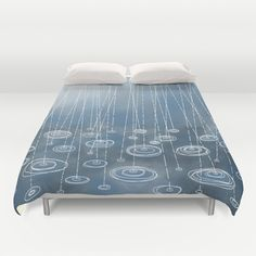 Another Rainy Day Duvet Cover by Squirrell - $99.00