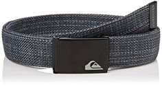 Quiksilver Mens Principle Ii M Blts Ktfh Belt Grey Features: Web belt Embossed logo Metal buckle, Buckle Width: 3,2 cm Manufacturer colour: dark grey heather Fabric: 100% Polyester (Barcode EAN = 3613371995591). http://www.comparestoreprices.co.uk/december-2016-5/quiksilver-mens-principle-ii-m-blts-ktfh-belt-grey.asp