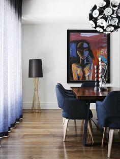 Laurel Crt House by Sisalla Interior Design Photographer: Eve Wilson