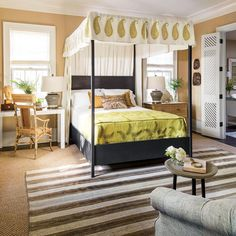 50th Anniversary Idea House: Master Bedroom Designed by Lauren Liess