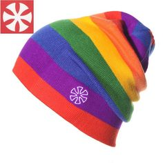SNSUSK B3 Rainbow color winter knitted hat for women men beanies girls skullies gorros beanies big children ski skate cap #>=#>=#>=#>=#> Click on the pin to check out discount price, color, size, shipping, etc. Save and like it!