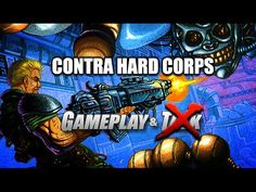 Contra Hard Corps gameplay for the Sega Genesis