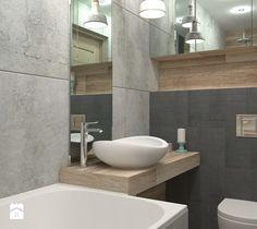 Aranżacje wnętrz - Łazienka: Sposób na małą łazienkę - Mała łazienka, styl skandynawski - LUDWEE Pracownia Architektury Wnętrz. Przeglądaj, dodawaj i zapisuj najlepsze zdjęcia, pomysły i inspiracje designerskie. W bazie mamy już prawie milion fotografii!