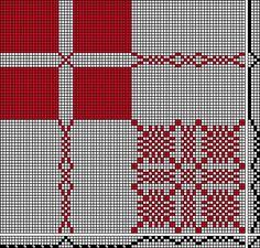 daldräll | 4-shaft, 4-treadle