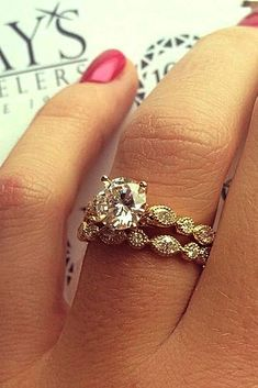 Dazzling Diamond Engagement Rings Of Her Dreams  See more:   #weddings