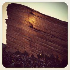 Red Rocks Amphitheater. Best concert venue ever!!