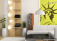 Stickers muraux Liberty