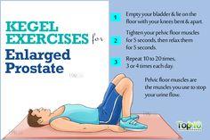 kegal exercise for enlarged prostate