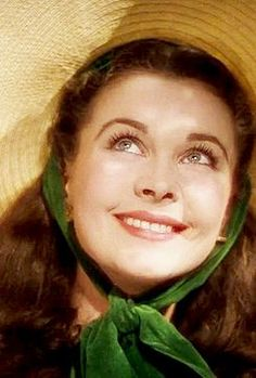 """Vivien Leigh as Scarlett O Hara in """"Gone With The Wind""""!"""