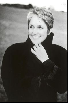 joan baez - musician, artist & activist. Gyspy! I can only hope to age as gracefully.