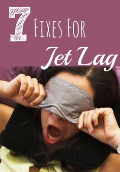 Cure jet lag fast with these 7 remedies. This will be invaluable for #Thanksgiving travels! (Plus who knew that jet lag could make you fat?!)
