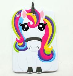 Cute IPAD mini 1 2 3 4 Casse 3D Cartoon unicorn horse Cases For ipad 2 3 4 5 6 ipad air 1 2 FUN Cases